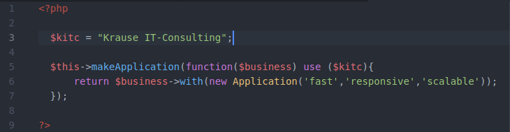 Marketing fun code snippet